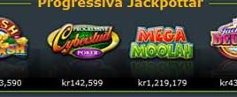 Progressiva jackpots Gaming Club just nu